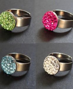 Swarovski köves Gyűrűk